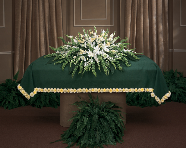 How To Make A Flower Blanket For Casket - Blankets & Throws Ideas